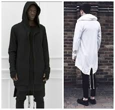2019 2016 hoos for men urban hoo hip hop jacket white black men s coat extended cape hoo mens hooded cloak hoos from braveheart