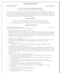 Account Executive Resume Cool Resume For Account Advertising Account Manager Resume Account