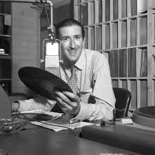 Bill Garr in radio station — Calisphere