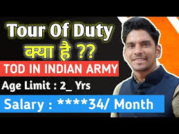 tour of duty indian army kya hai tod