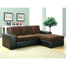 leather and cloth sectional sofas vs sofa or couch for dogs mix fabric awesome brown