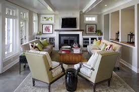 decorate living room with fireplace. Graciela Rutkowski Interiors - Kenmore Home Decorate Living Room With Fireplace P