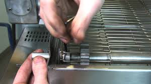 How To Fix Oven How To Fix Pizza Oven Conveyor By Replacing Shaft Adapter Youtube