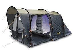 Tenda Campeggio Con Bagno : Bertoni spazio tenda da campeggio blu sabbia beige