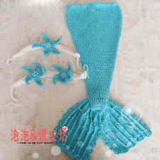 Baby Mermaid Crochet Pattern Unique Decoration