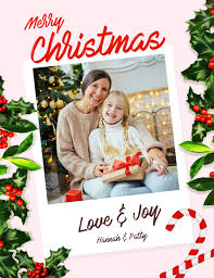 christmas postcard maker customize 2 360 christmas cards templates postermywall