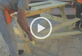 attach the seats build picnic table cooler