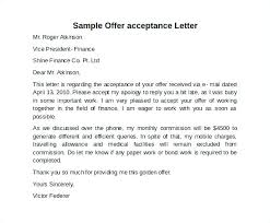 Acceptance Letter For Job Enchanting Confirmation Of Offer Letter Employment For Bank Job Stormcraftco