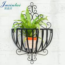 get ations continental iron balcony wall interior wall hanging wall hanging basket flower pots stand scindapsus meaty showy