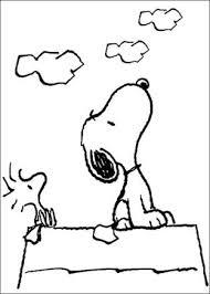 Disegni Snoopy Da Colorare