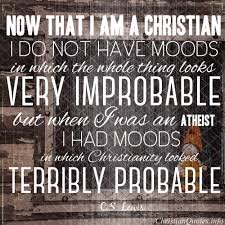 Cs Lewis Quotes Christian Best Of C S Lewis Quote When I Was An Atheist ChristianQuotes