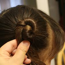 Childrens Hair Style traditional chinese childrens hairstyle two buns on the sides 8058 by wearticles.com