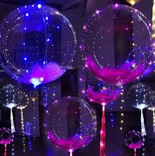 Celebrations Led Rope Light Luminous Balloons Can Be Applied In Various Festivals
