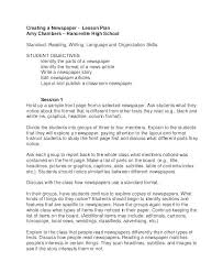 Newspaper Article Template Students Free Newspaper Article Template