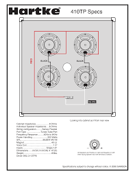hartke tp wiring diagram