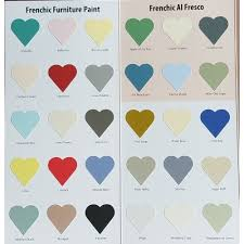 Frenchic Colour Chart Colour Chart