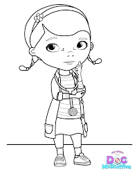 Free Doc Mcstuffins Coloring Pages Doc Coloring Pages Free Printable