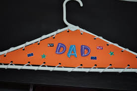 Father's Day Hanger Craft