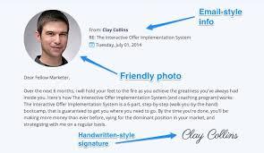 web 3 sales letter elements