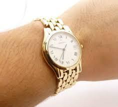 movado 74c29881 14k solid yellow gold mash bracelet men 039 s image is loading movado 74c29881 14k solid yellow gold mash bracelet