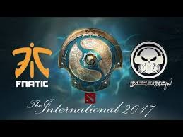 dota 2 live fnatic vs execration the international 2017