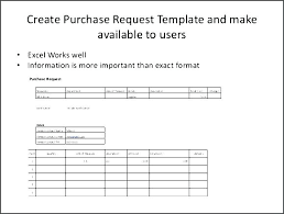 Purchase Request Form Template Excel Purchase Request Form Template Requisition Sample Download