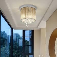 glass strip flush mount light