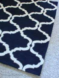 charming navy blue and white rug 38 grey stylish area