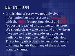 argumentative writing definition argumentative essay definition format examples video