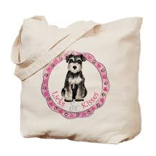 take this adorable tote bag out ping and show the world just how much you love schnauzers don t worry about heavy items as this bag has a 22