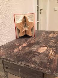 Bücher Falten Stern Kakaoherz88