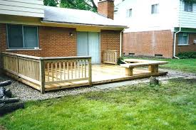 Backyard Decking Designs Fascinating Backyard Deck Designs Simple Deck Designs Best Home Decks Designs