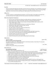 Entry Level Web Developer Resume Sample Free Sample Resume In Word