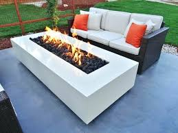 fire pit coffee table propane outdoor fire pit coffee table modern contemporary concrete fire tables epic