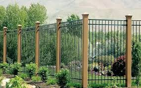 wrought iron fence ideas. Plain Wrought Fashionable Iron Fence Designs New Ornamental Wrought Fences Pictures  Stair Within Idea  On Wrought Iron Fence Ideas