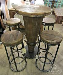 interior appealing round pub tables 9 round wooden pub tables