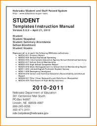 Instruction Manual Template 4 Professional Report Template Word 2010 Progress