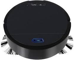 heummyo Robot Vacuum Cleaner White USB Rechargeable ...