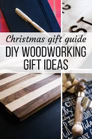 diy gift ideas for woodworkers