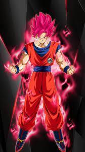 Goku - Red, anime, dragon boll super ...
