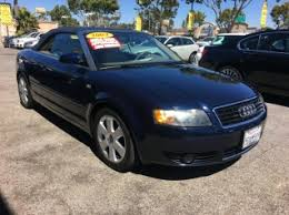 audi a4 2004. used 2004 audi a4 2dr cabriolet 18t cvt for sale in lawndale ca