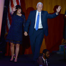 Cele bitchy Mike Pence never eats alone with a woman who is not.