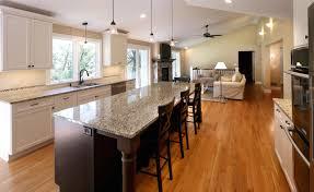 Living Room Kitchen Open Floor Plan Living Room And Kitchen 1085