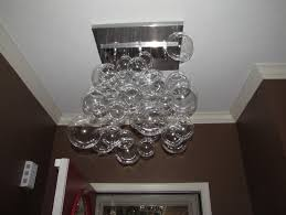 glass bubble chandelier lighting. 48 Most Bang-up Best Diy Glass Chandelier Bubble Pendant Light Design Ideas How To Home Decor Concept Farmhouse Rustic Chandeliers Dining Room Lighting S