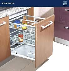 pull out cabinet basket hot s stainless steel kitchen cabinet pull out basket pull out baskets