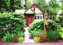 lush landscaping ideas. Bohemian Style House With A Lush Front Yard Landscape Garden Shrubs And Trees Landscaping Ideas U