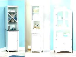 white bathroom storage cabinets. Thin Bathroom Cabinet Shallow Slimline Cabinets White Alluring Storage Narrow