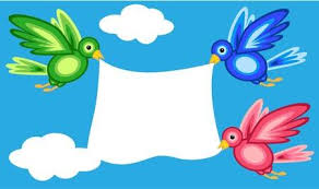 colorful birds flying clipart. Delighful Flying Graphic Shape Colorful Birds Flying In Blue Sky With White Clouds While  Holding A Large And Colorful Birds Flying Clipart C