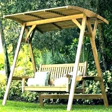 wooden porch swing frame wood with build a stand outdoor for baby sw