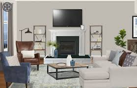 asian style coffee table classic coastal global living room design by havenly interior